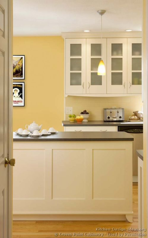 Kitchen Idea Of The Day Transitional Kitchens By Crown Point Cabinetry Kitchens Of The