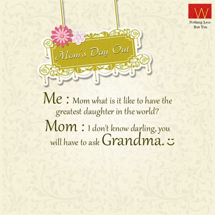 Make this #MothersDay memorable. Visit the nearest #Wstore and have fun with your mom  #MomsDayOut