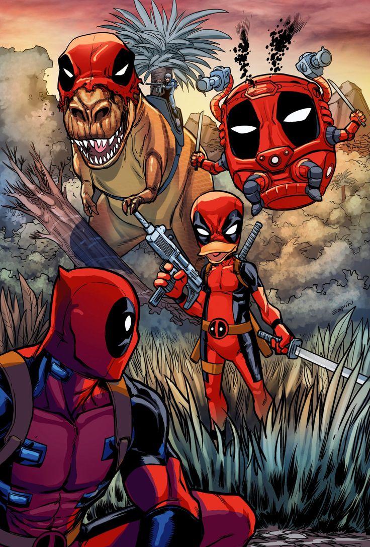 The Many Deadpools of Deadpool Kills Deadpool -  Salva Espin