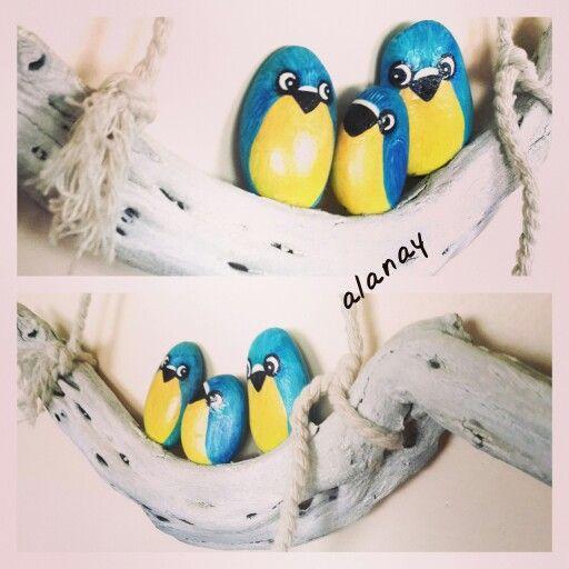 Minik kuş ailesi