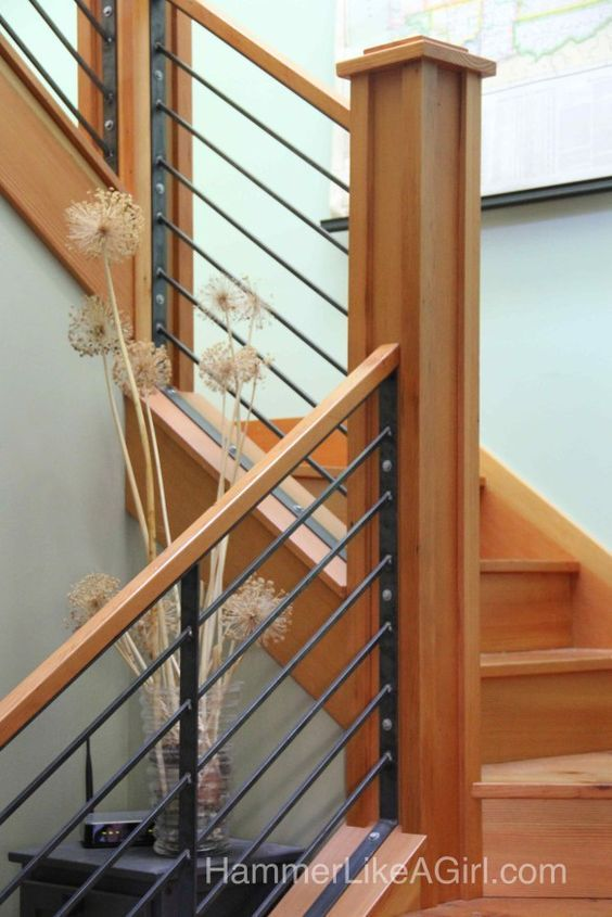 Best 25+ Wood stair railings ideas on Pinterest | Porch ...
