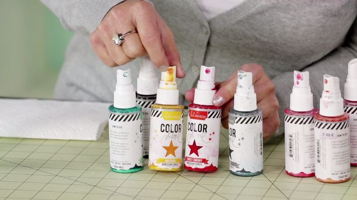 Learn @Heidi Swapp's Quick Tip on how to clean Spray Shine or slimmer mist nozzles.
