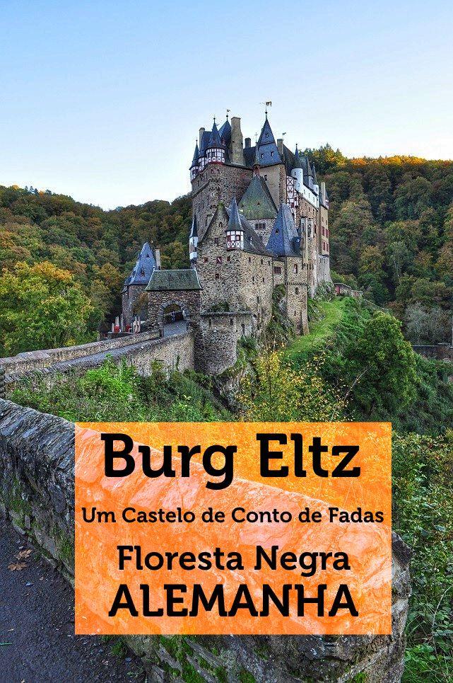 Escondido no Vale Eltz no meio da Floresta Negra na Alemanha, encontra-se um castelo digno de contos de fadas: o Burg Eltz.
