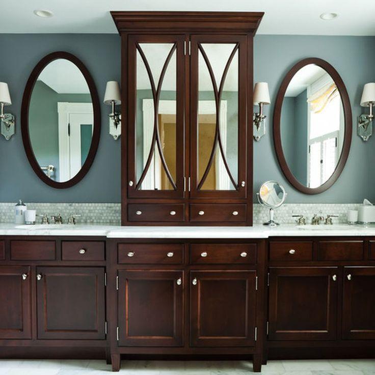 How To Create A Greyscale Bathroom: Best 25+ Dark Wood Bathroom Ideas On Pinterest