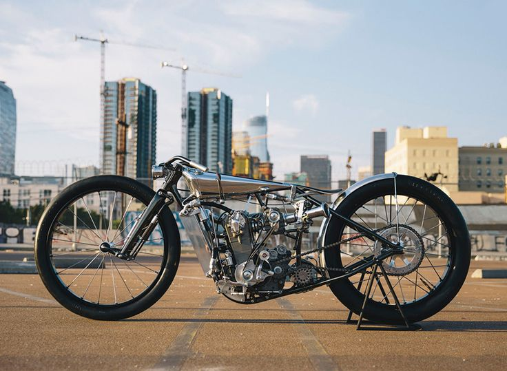 hazan motorworks' supercharged KTM motorcycle boasts exceptional metalwork