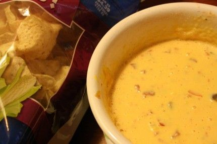 Fast Food for Slow Sundays: Rotel Cheese Dip