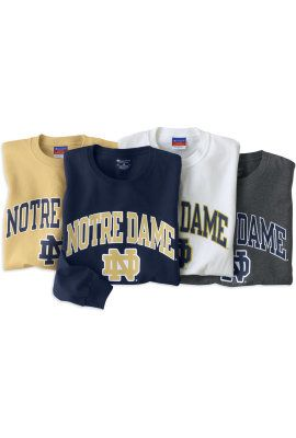Product: University of Notre Dame Long Sleeve T-Shirt