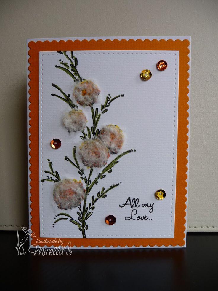 Penny Black Delicate Florals #pennyblack #pennyblackstamps #delicateflorals #cottonanniversary