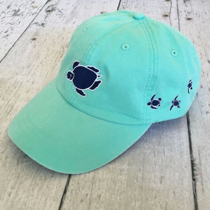 Shelly Logo Cap - Seafoam from Shelly Cove
