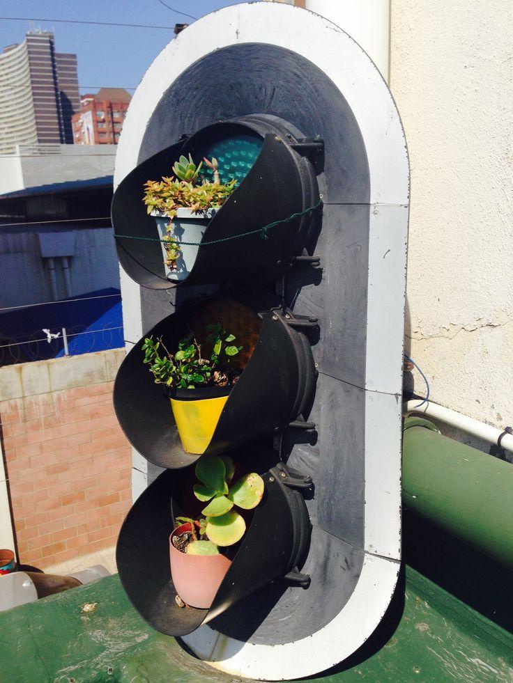 #9 GoGreen_RooftopGarden_Durban_SouthAfrica_byJesseDk #green #reuse #garden
