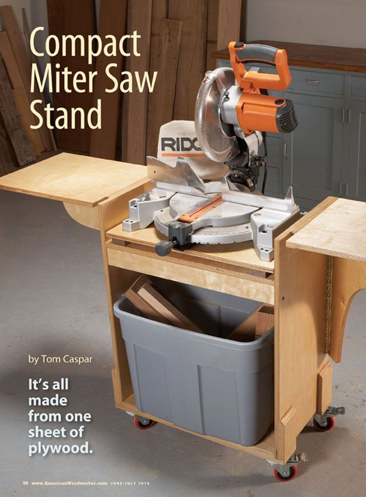 mitre saw stand - Google Search                                                                                                                                                     More