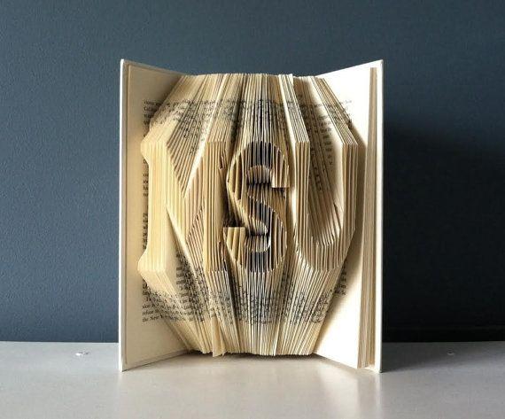 Custom Graduation Gift Folded Book Art 3 Characters