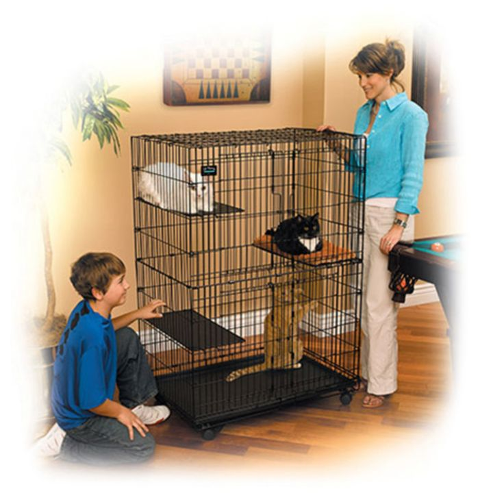 Midwest Cat Playpen for Cats and Kittens - Collapsible - 130