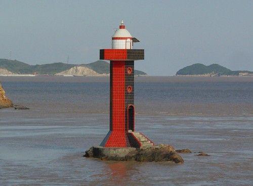 Danijiao lighthouse [2001 - Zhoushan Island, Zhejiang, China]