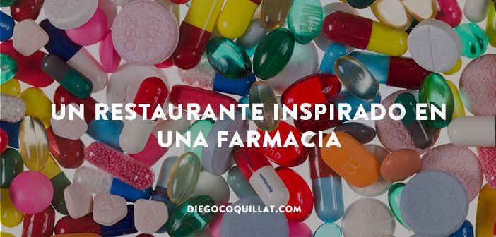 El diseñador Damien Hirst y el chef Mark Hix regentan el FARMACY2, un restaurante inspirado en una farmacia. Plagado de detalles del mundo farmacéutico, el restaurante ha sido bautizado como el comedor del arte