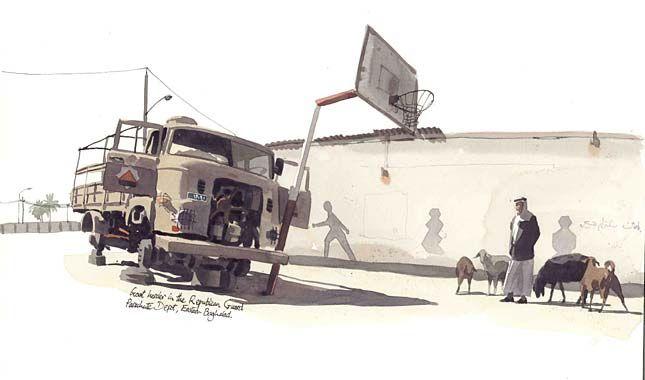 Matthew Cook, War Artist.