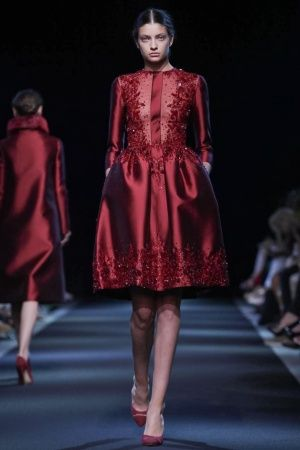 Georges Hobeika Haute Couture Fall Winter 2013 Paris - NOWFASHION