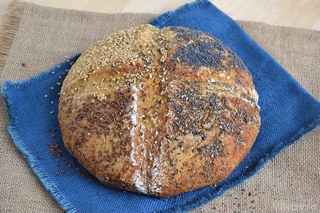 Il soda bread (pane senza lievito) è un pane irlandese che viene preparato con il bicarbonato di sodio al posto del classico lievito di birra che fa