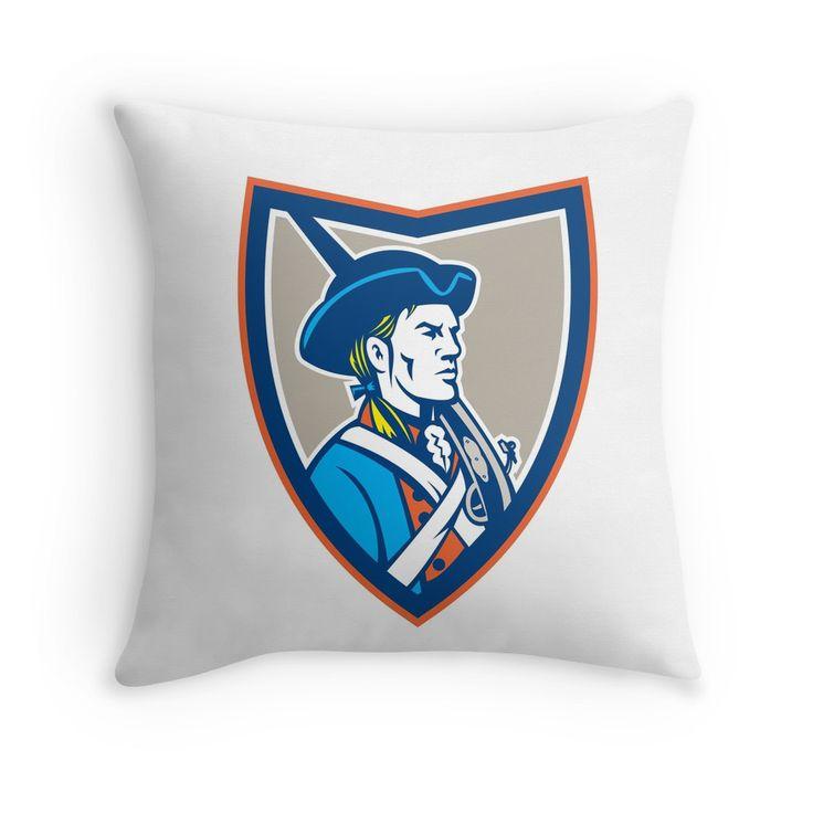 American Patriot Musket Side Shield Retro