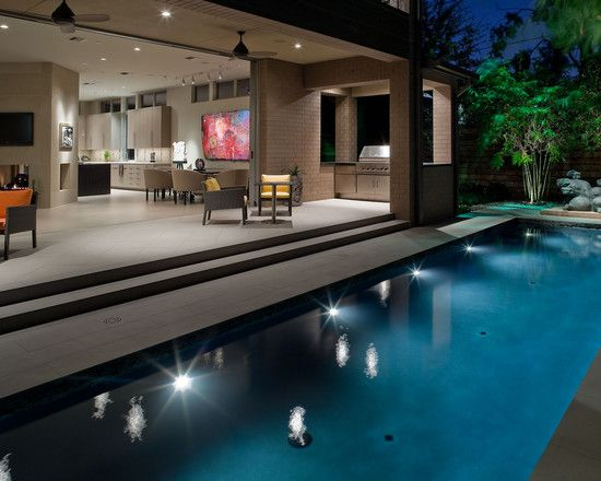 exterior design contemporary pool from landscape design houston also beautiful graden plants also grill area. Interior Design Ideas. Home Design Ideas