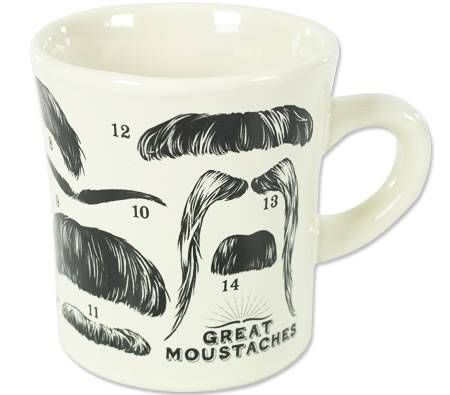 The Great Moustaches Mug