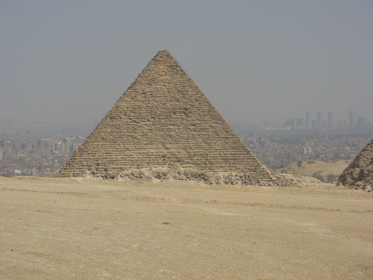 Pyramidy v Gíze. Káhira