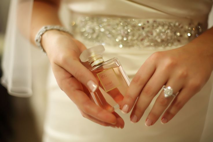 our wedding, chanel perfume, pear shape engagement ring