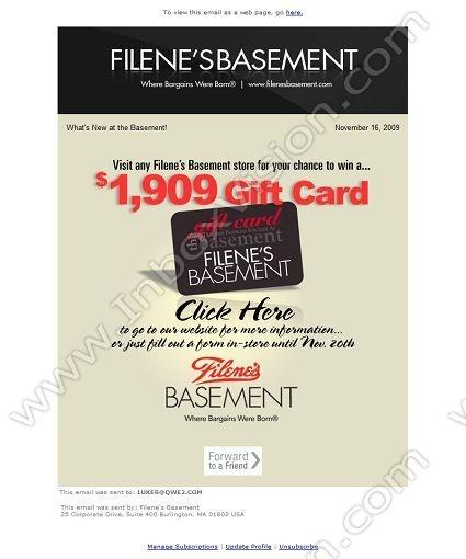 19 best Email Design Gift Card images on Pinterest Email design - sample company newsletter