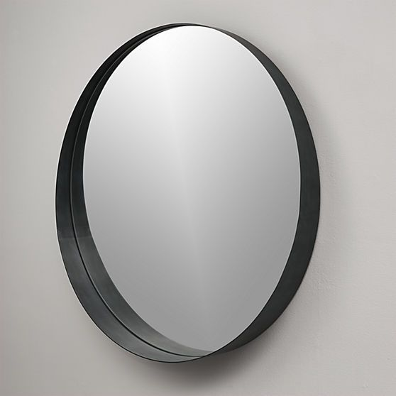 1000 images about mv round mirror on pinterest 1940s for Round black wall mirror
