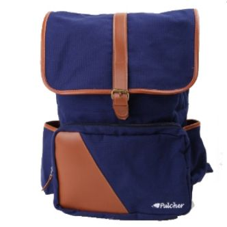 tas ransel vintage,,  pulcher bags - PREMIER Special Edition Navy Rp. 199.000 // 085.7722.55000 - tasranselvintage.com