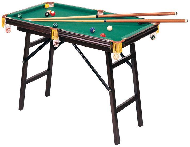 Mini Folding Pool Table   Pool Tables At Hayneedle