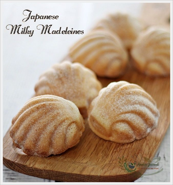 Japanese Milky Madeleines 日式马德琳蛋糕 | Anncoo Journal - Come for Quick and Easy Recipes