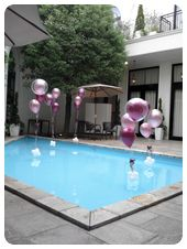プール装飾 ¥18,000