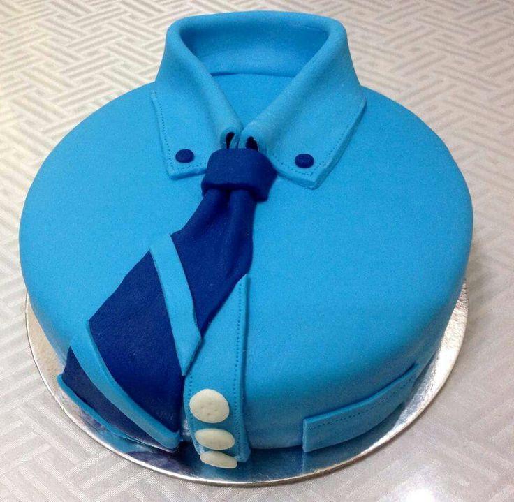 Polo with Necktie Cake