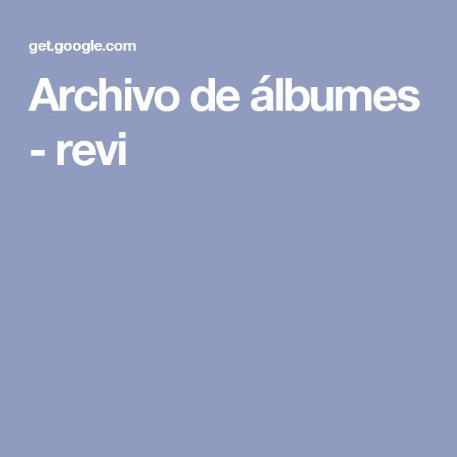 Archivo de álbumes - revi