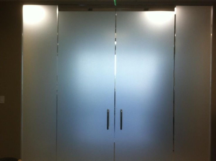Frosted Glass Office Door