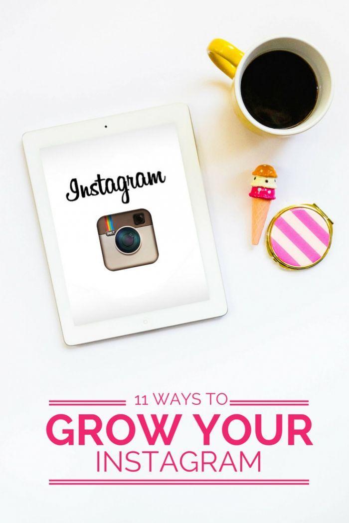 11 Ways to grow your Instagram account!