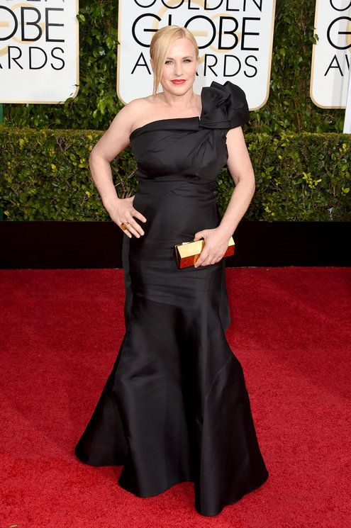 Patricia Arquette in Escada at Golden Globes 2015