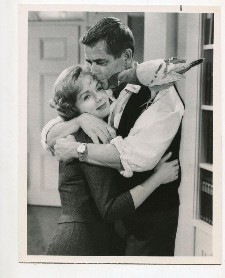 Saturday Night At The Movies-Debbie Reynolds-Glenn Ford-7x9-B&W-Still-FN