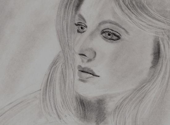 Romola Garai by CBond, drawing http://RomolaGarai.org