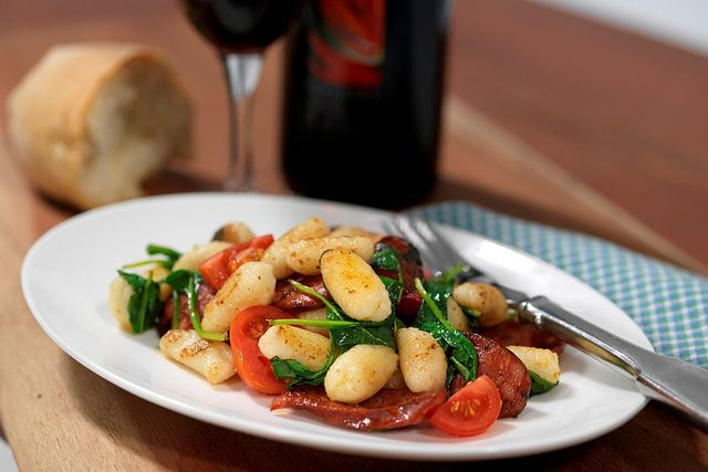 Il Cacciatore Italian Restaurant Pokolbin, Hunter Valley  Home made Gnocchi