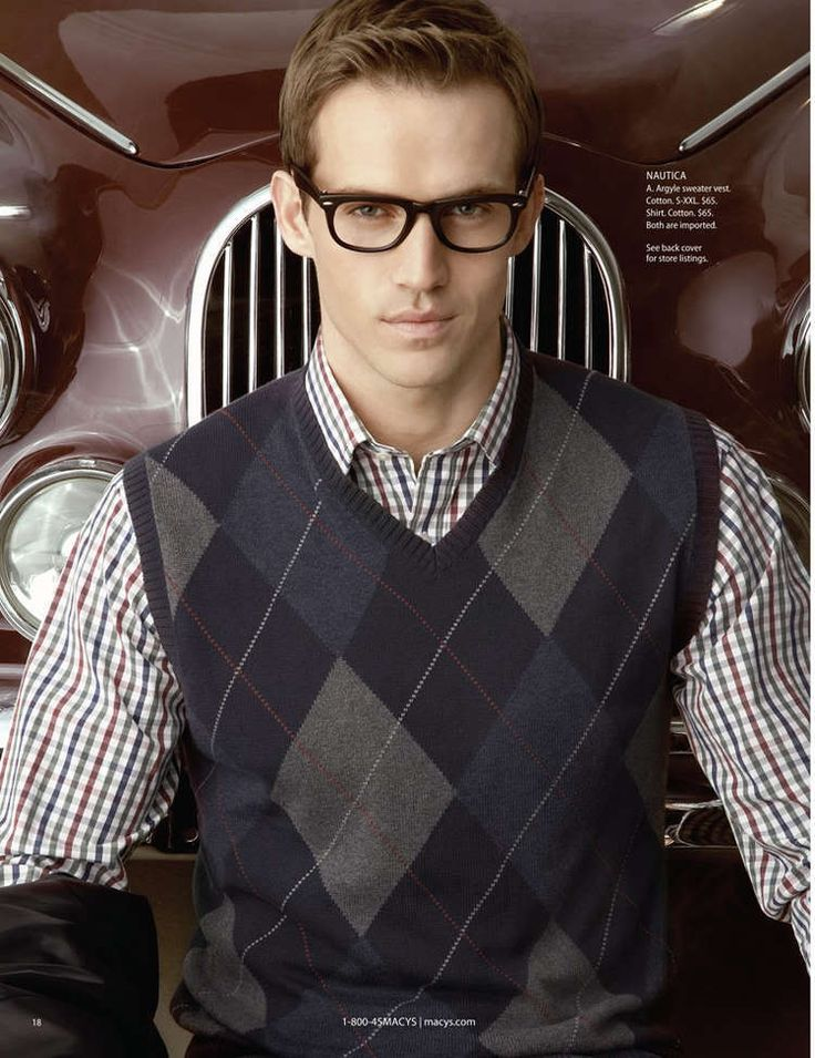 Nautica Argyle Sweater Vest