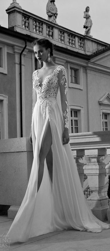 Birdal Gown lace, long sleeve wedding dress LOVE