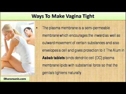 This video describe about safe and natural ways to make vagina tight.