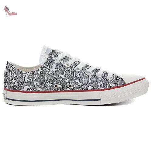 Billig Extrem Converse All Star Low Customized Personalisierte Schuhe (Handwerk Schuhe) Slim Stanlio e Ollio TG42 Mys Günstig Kaufen Freies Verschiffen q8F2SPN