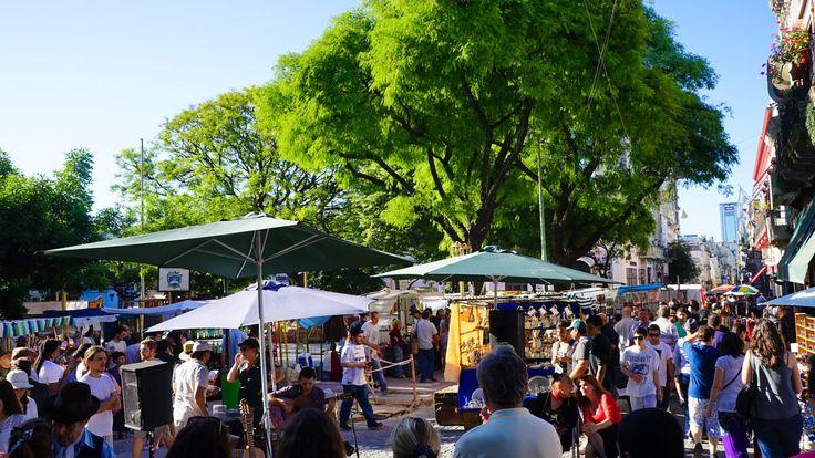 Sunday Flea Market - buenos aires attractions