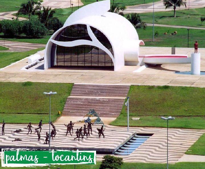 Memorial Coluna Prestes - o Tocantins é um dos mais novos estados brasileiros. Surgiu em 1988, quando emancipou-se do estado de Goiás.  #engenharia#arquitetura#cursoparaarquiteta#cursoparaengenheiro#cursoautocad#cursorevit#sketchup#palmas#tocantins#brasil