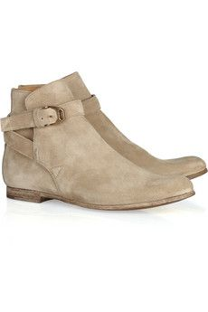 Church's Fanny suede ankle boots | THE OUTNET
