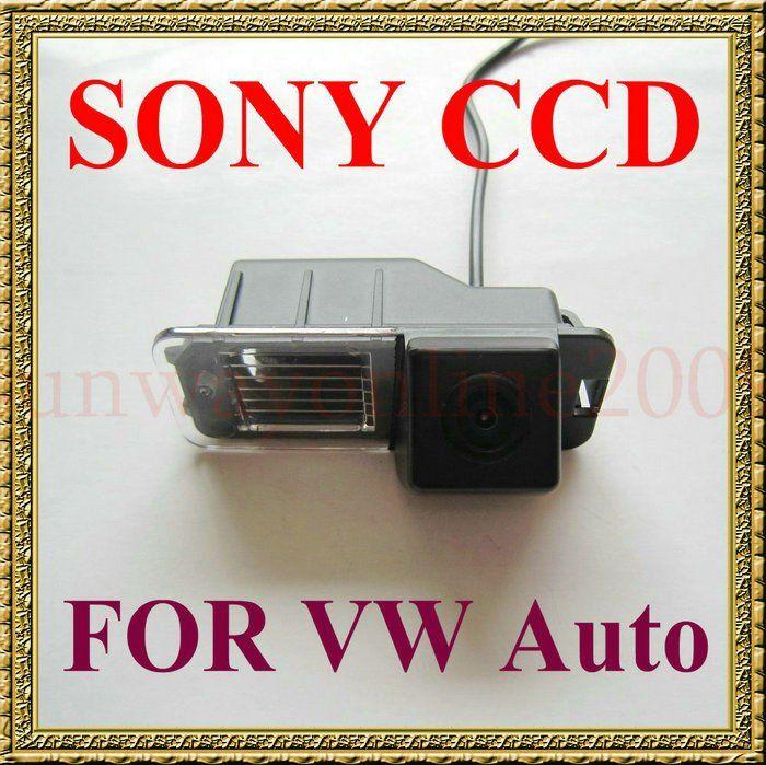 Заднего вида SONY CCD камера заднего вида для фольксваген поло ( 6R ) / гольф 6 VI / Passat CC с направляющей линии