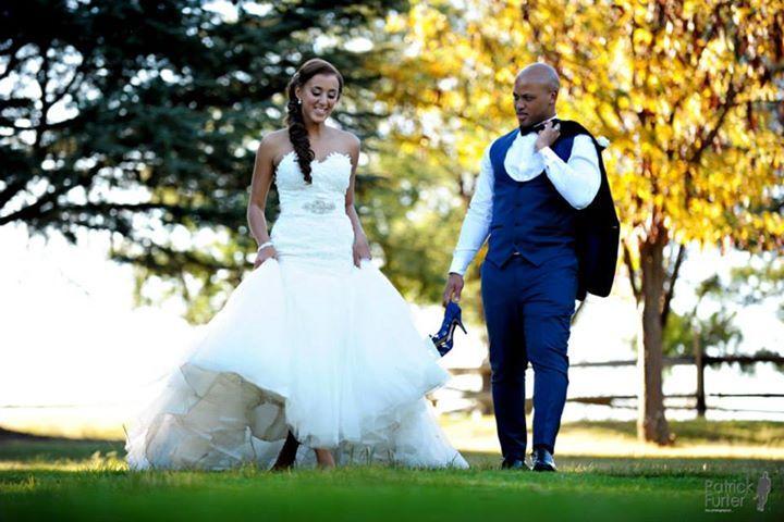 Benjamin & Jamie's Wedding at Oakfield Farm by Patrick Furter » The Photographer_The beautiful couple